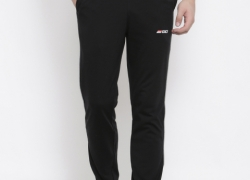 2GO Black Straight Fit Active Track Pants