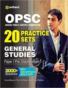 OPSC 20 Practice Sets General Studies Paper I Pre Examination