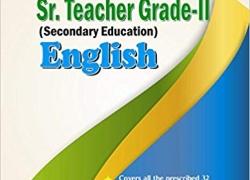 RPSC Sr. Teacher Grade – II (Secondary Education) English