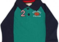612 League Boys Solid Cotton T Shirt  (Blue, Pack of 1)