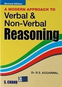 A Modern Approach to Verbal & Non- Verbal Reasoning by Dr.R.S Aggarwal