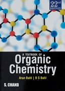 A textbook of organic chemistry by Bahl & Ba
