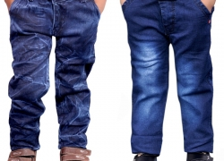 AD & AV Regular Boys Multicolor Jeans  (Pack of 2)