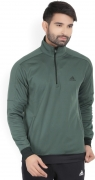 Adidas Full Sleeve Solid Men's Sweatshirt