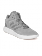 Adidas NEO Men Grey CF REVIVAL Suede Sneakers