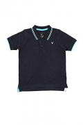 Allen Solly Junior Boys Solid Cotton T Shirt  (Black, Pack of 1)