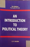 An Introduction to Political Theory by O P Gauba