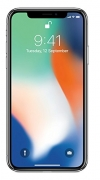 Apple iPhone X Silver, 64 GB