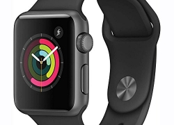 Apple Watch Series 1 – 38 mm Silver Aluminium Case with White Sport Band