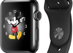 Apple Watch Series 2 – 42 mm Silver Aluminium Case with White Sport Band  (White Strap Medium)