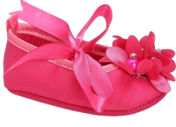 Barbie Girls Lace Walking Shoes  (Pink)