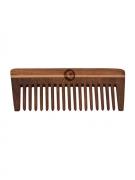 BEARDO Men Brown Shisham Wooden Comb