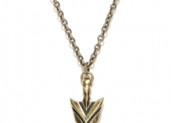 Being Human Jewellery Men Antique Gold-Toned Pendant with Chain