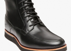 Timberland Black Derby Boots