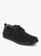 Woodland  Black Lifestyle Shoes
