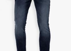 Locomotive Blue Washed Slim Fit Jeans