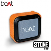 boAt Stone 200 Portable Bluetooth Mobile/Tablet Speaker(Orange, Stereo Channel)
