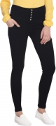 Broadstar Slim Women Black Jeans