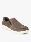 Woodland Brown Loafers for Men