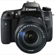 Canon EOS 760D (Kit with EF-S 18 – 135 mm IS STM) DSLR Camera(Black)