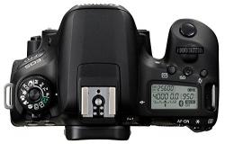 Canon EOS 77D DSLR Camera (Body Only) (16 GB SD Card + Camera Bag)  (Black)