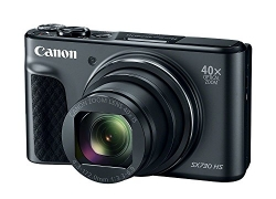 Canon POWERSHOT SX 730 Point and Shoot Camera  (Black 20.3 MP)