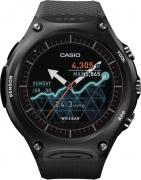 Casio Smart Outdoor Smartwatch  (Black Strap Regular)