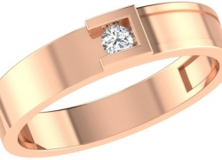 Celenne By Gili Designer 14kt Diamond Yellow Gold ring  (Yellow Gold Plated)