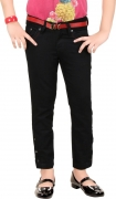 Clench Slim Girls Black Jeans