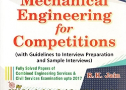 Mechanical Engineering for competitions by R.K JAIN