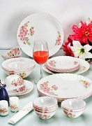 DIne Kart La Opala 33 Pcs Venus Melody Dinner Set
