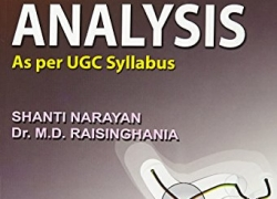Real Analysis by Shantinarayan