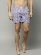 FCUK Blue Printed Boxers FBS01