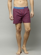 FCUK Blue & Red Printed Boxers FBS02