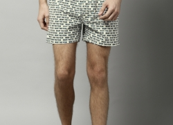FCUK Off-White Printed Boxers M3AAF