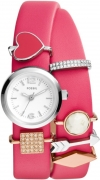 Fossil ES3964SET GEORGIA COLLECTABLE CHARM WRAP Watch – For Women