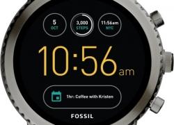 Fossil Gen 3 Q Explorist Grey Smartwatch  (Grey Strap Regular)
