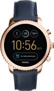 Fossil Gen 3 Q Explorist Rose Gold Smartwatch  (Blue Strap Regular)