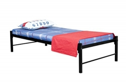 FurnitureKraft Osaka Metal Single Bed