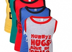 Gkidz Boys Printed T Shirt  (Multicolor, Pack of 5)