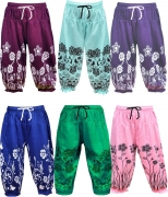 good choice Capri For Girls Casual Self Design Cotton  (Multicolor Pack of 6)