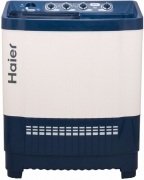 Haier 8 kg Semi Automatic Top Load Washing Machine White, Blue  (HTW80-186VA)