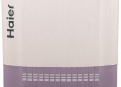 Haier 8 kg Semi Automatic Top Load Washing Machine White, Purple  (HTW80-186V)