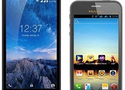 Intex Aqua Amaze Plus (GREY, 8 GB)  (1 GB RAM) with Maxx AX5i Duo Mobile