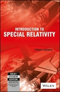 Introduction To Special Relativity 1st Edition by Robert Resnick