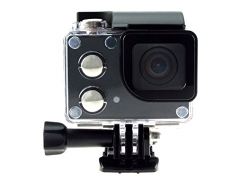 ISAW Edge Wi-Fi 4K Action Camera (Black)