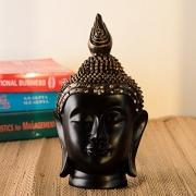 JaipurCrafts Premium Gautam Buddha Showpiece – 24 cm (Polyresin, Multicolor)