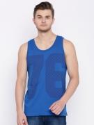 Jockey Blue Printed Vest