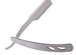 Kabello Stainless Steel Straight Edge Barber Blade Razor, shaving razor