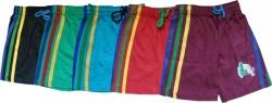 Kifayatibazar Short For Boys & Girls Casual Solid Cotton  (Multicolor, Pack of 5)